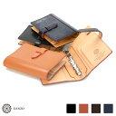 【GANZO】 ガンゾ 長財布 ブライドル システム手帳カバー バインダーミニサイズ THIN BRIDLE シンブライドル