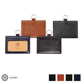 【GANZO】 ガンゾ THIN BRIDLE シンブライドル IDケース カードホルダー パスケース