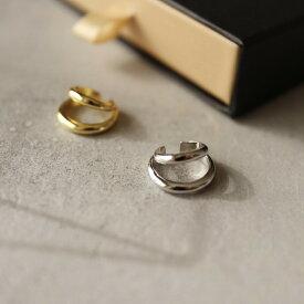 M837 イヤーカフ 高純度シルバー イヤカフ イヤーカフス メンズ silver925 シンプル 片耳 ゴールド シルバー ギフト プレゼント 女性 レディース ユニーク フリーサイズ ajiro