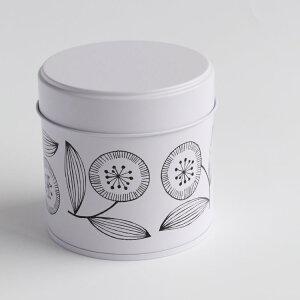 admi(アドゥミ) はな缶 保存容器 クッキー缶 茶筒 茶缶 キッチン雑貨 キャニスター プレゼント ギフト レディース おしゃれ かわいい