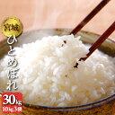 新米 元年産 宮城県産 ひとめぼれ 30kg 10kg3袋 送料無料 お米