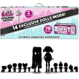 【L.O.L. Surprise 】 LOL サプライズ アメージング サプライズ Amazing Surprise with 14 Dolls & 70+ Surprises アメイジング/70サプライズ/おもちゃ/人形/女の子用/プレゼント/lolサプライズ