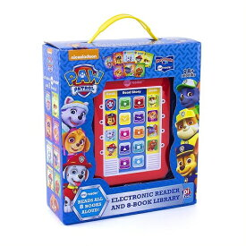 【Paw patrol】 パウパトロール ミーリーダー 絵本8冊セット Me Reader Electronic Reader and 8-Book Library 英語の自動再生付き 英語絵本