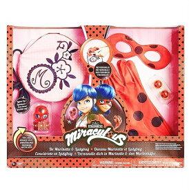 ミラキュラス レディバグとマリネットになれるセット イヤリング/財布/手袋/グローブ/アイマスク/てんとう虫 Rubies Miraculous Ladybug Be Marinette Set