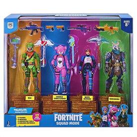 【Fortnite/フォートナイト】 フィギュア 4体セット ラグナロク/レックス/ブライトボンバー/ピンクマ/ Squad Mode 4 Figure Pack, Series 1 ぴんくま/ピンくま/おもちゃ/公式/カドルチームリーダー