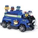 パウパトロール チェイス チーム ポリス クルーザー ビークル フィギュア 6体付き Chase's Total Team Rescue Police…