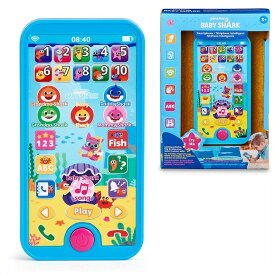【WowWee】Pinkfong ベビーシャーク スマートフォン おもちゃ/携帯電話/ピンキッツ/ピンクフォン/ピンクポン/ベイビーシャーク/さめのかぞく/Baby Shark