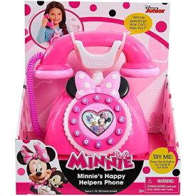 【ディズニージュニア】 ミニー ハッピーヘルパー 電話 MINNIE Happy Helpers Phone おもちゃ/クリスマス/誕生日/フォン/ミニーマウス/ミニーちゃん