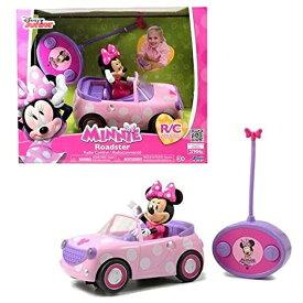 【Jada Toys/ジェイダトイズ】 Disney Junior ミニーマウス ロードスター ラジコンカー リモコンカー/RCカー/おもちゃ/ミニーちゃん/ミニー/車/フィギュア/ポルカドット