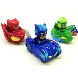 しゅつどう!パジャマスク ミニビークル 3台セット キャットボーイ ゲッコー アウレット PJ Masks Mini Vehicle 3-pack PJマスク/おもちゃ/乗り物/フィギュア