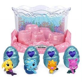 【Hatchimals】 CollEGGtibles うまれて!ウーモ ミニ シーズン5 Mermal Magic Underwater Aquarium with 8 Exclusive 水族館/アクアリウム/おもちゃ/お誕生日/クリスマスプレゼント