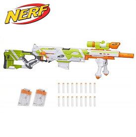 【NERF】 ナーフ Nストライク エリート Longstrike Nerf Modulus Toy Blaster with Barrel Extension ロングストライク/スポーツトイガン/おもちゃの鉄砲/銃あそび/ごっこあそび/アウトドア/スポンジガン