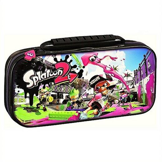 【Nintendo SWITCH】ニンテンドウ スイッチ スプラトゥーン 2 デラックス トラベル ケース キャリングケース 任天堂/スウィッチ/ニンテンドー/スイッチ/ハードケース