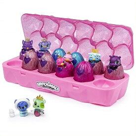 【Hatchimals】CollEGGtibles うまれて!ウーモ ミニ ロイヤル 12個セット Jewelry Box Royal Dozen 12 Pack Egg Carton with 2 Exclusive アクセサリー/ジュエリーボックス/おもちゃ/お誕生日/クリスマスプレゼント