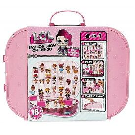 【L.O.L. Surprise 】 LOL サプライズ ファッションショー オンザゴー ライトピンク ストレージ&プレイセット Fashion Show On-The-Go Light Pink Storage & Playset おもちゃ/人形/女の子用/プレゼント/lolサプライズ