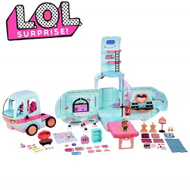【L.O.L. Surprise 】 LOL サプライズ 2-in-1 グランパー ファッション キャンパー 2-in-1 Glamper Fashion Camper with 55+ Surprises 55サプライズ/おもちゃ/人形/女の子用/プレゼント/lolサプライズ/キャンピングカー