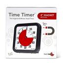 【Time Timer 】 タイムタイマー 19cm マグネット付き ブラック カウントダウン/文字盤/アナログ/時間管理/シンプル/…