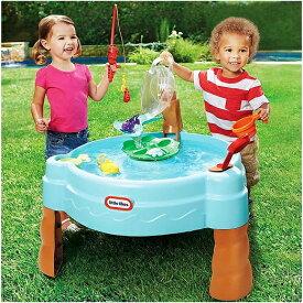 【Little Tikes / リトルタイクス】 フィッシュ&スプラッシュ ウォーターテーブル Fish 'n Splash Water Table 水遊び/知育玩具/大型玩具/釣り
