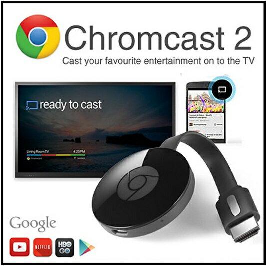 【送料無料】【google chromecast2】グーグル クロムキャスト2ストリーミング/音楽/動画/映像/アプリ/HDMI/クロームキャストAndroid/スマホ/タブレット/ミラーリング