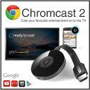 【送料無料】【google chromecast2】グーグル クロムキャスト2ストリーミング/音楽/動画/映像/アプリ/HDMI/クロームキャストAndroid...