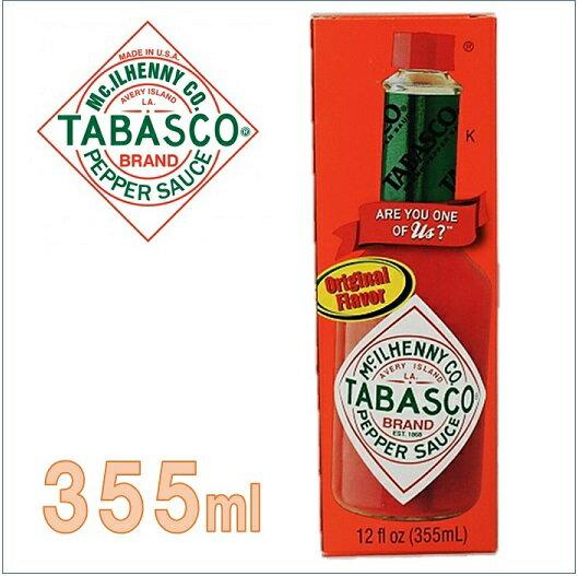 大容量355ml!【TABASCO】 タバスコ ペッパーソース ピザ/パスタ/唐辛子/激辛/香辛料/業務用/調味料/コストコ