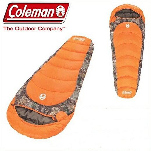 【 Coleman 】 コールマン 寝袋 リアルツリー マミー型 シュラフ 寒冷地仕様 カモマミー CAMO MUMMY -17.8℃まで対応 スリーピングバッグ キャンプ アウトドア コールマン寝袋