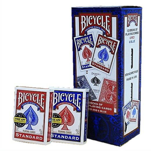 BICYCLE バイスクル トランプ 1ダース(12個)セット バイシクル BICYCLEライダーパックポーカーサイズ 【手品】【マジック】【マジック用品】【手品用品】