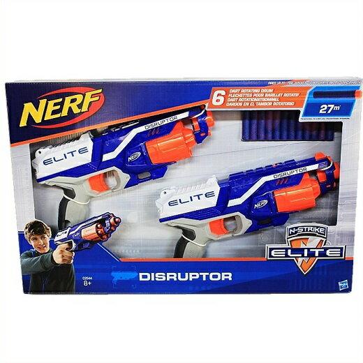 【NERF】 ナーフ Nストライク エリート ディスラプター 2丁セット ダーツ12本入り N-Strike Elite DISRUPTOR 2PK スポーツトイガン/おもちゃの鉄砲/銃あそび/ごっこあそび/アウトドア/スポンジガン