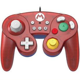 【Nintendo SWITCH】ニンテンドー スイッチ スーパーマリオ ホリ HORI クラシックコントローラー (有線) マリオ/任天堂/スウィッチ/コントローラー/ ゲームキューブスタイル