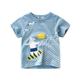 子供服 Tシャツ ボーイズTシャツ キッズ ベビー トップス 半袖Tシャツ 漫画風プリント 可愛い かっこいい 男の子 子供服 アウトレット キッズ 半袖シャツ 男の子 キッズ パジャマ 半袖 ボタン