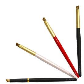 【名入無料】北斗園 熊野化粧筆(熊野筆・メイクブラシ)アイブロウブラシ /HBS-11