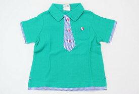 BITZ(FO)ビッズ付け替えワッペン半袖ポロシャツ(80cm、90cm、95cm、100cm、110cm)