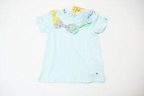 (サマーセール定価1900円+税をSALE)Youpi!(キムラタン)ユッピーリボンいっぱい♪半袖Tシャツ(90cm、100cm、110cm、120cm、130cm)