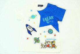 LITTLE BEAR☆CLUB☆(丸高衣料)リトルベアークラブ宇宙♪半袖Tシャツ(80cm、90cm、100cm、110cm、120cm、130cm)