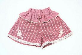 スーリー(Souris)レース使い♪キュロットスカート(80cm、90cm、100cm、110cm)