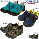 【送料無料】ダブルB(おすすめ)mikihouse DOUBLE.Bメッシュ素材(ダブルラッセル)サンダルシューズ(15cm、16cm、17cm、18cm、19...