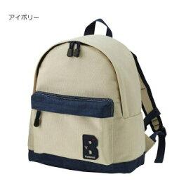 (定価7800円+税をSALE)ダブルB(DOUBLE.B)mikihouseキャンバス素材リュック(Mサイズ:容量8L)