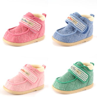 Akachan Market Shishunon Baby Kids Boys Girls Shoes Quilting Fabric