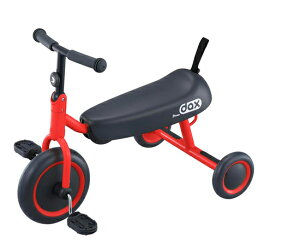 【アイデス】D-bike dax ディーバイクダックス(レッド) 折りたたみ 三輪車/おもちゃ/コンパクト