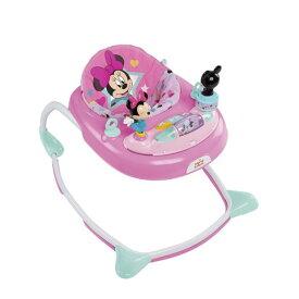 10月中旬以降【Disney baby】ミニーマウススターズ&スマイルズウォーカー 6ヶ月〜 bright starts/ベビーウォーカー / ロッキングチェア / 歩行器