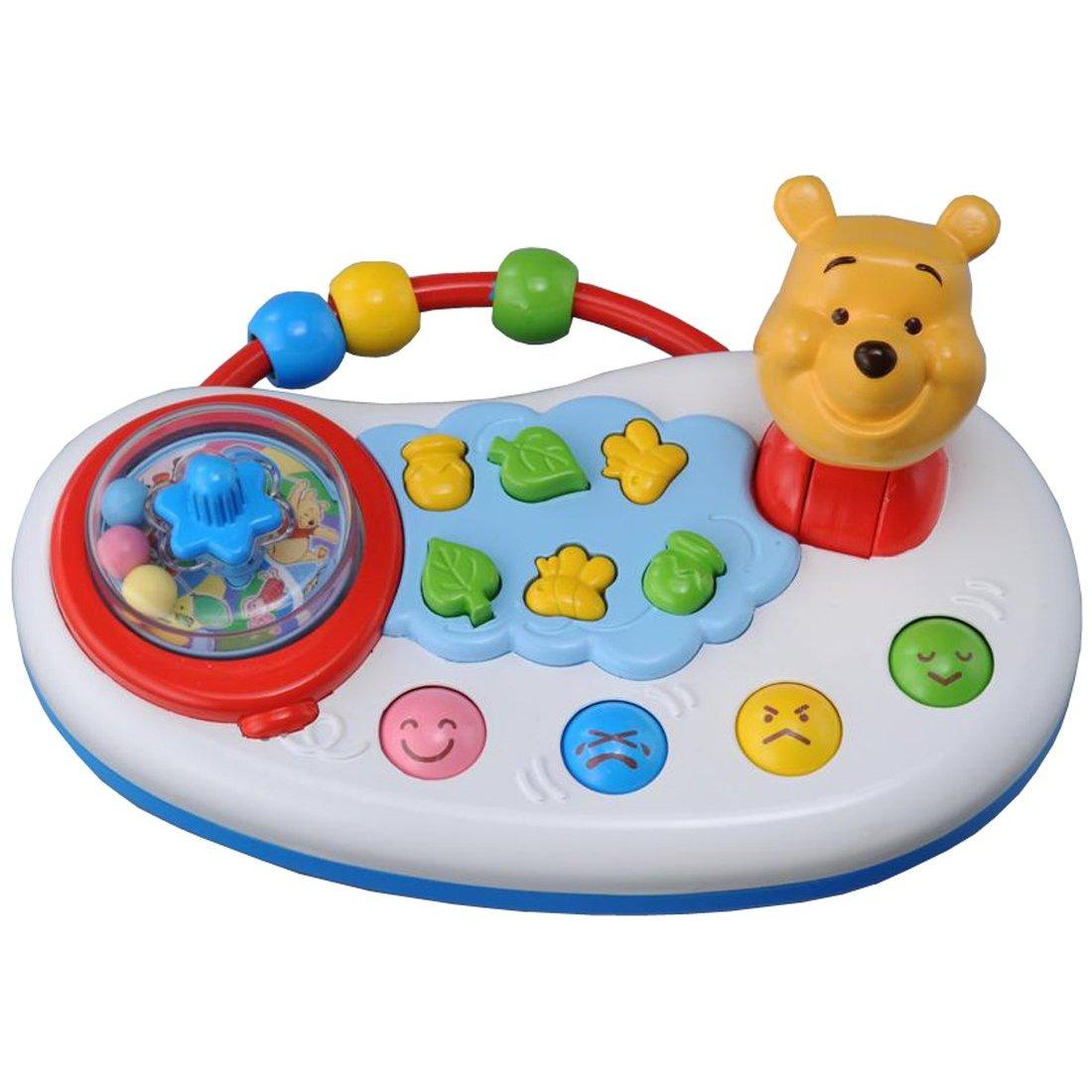 【タカラトミー】プーさん どこでもゆびさき遊びミニ/ベビープリスクールシリーズ/知育玩具/7ヶ月〜のおもちゃ/あやし/出産祝/お誕生祝  02P03Dec16