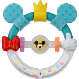 【タカラトミー】DLHおしゃぶりラトルミッキー&ミニー/Dear Little Hands/知育玩具/4ヶ月〜 のおもちゃ/あやし/出産祝/お誕生祝  02P03Dec16