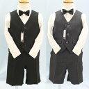 ◆男の子ベストスーツセット【2121】ピンストライプ柄シングルベストスーツ 80cm/90cm/95cm/100cm  02P03Dec16