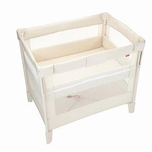 【アップリカ】 ココネル エアー ミルク WH ベビーベッド ミニベッド 赤ちゃんのベッド プレイヤード Aprica