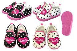 【Barbie/バービー】ドット柄スリッポン(BDA06)14cm/15cm/16cm/17cm子供靴/女児シューズ/スニーカー/カジュアルシューズ/運動靴/ベビーサイズ/トドラーサイズ/02P03Dec16