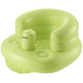 【リッチェル】ふかふかベビーチェアR(グリーン)GR/バスチェア/赤ちゃんのお風呂/沐浴/バス用品/エアー/空気  02P03Dec16
