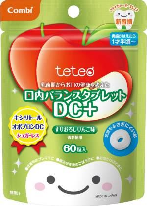 テテオ(teteo)・新・口内バランスタブレットDC+すりおろしりんご味 /コンビ/歯みがき/歯磨き  02P03Dec16