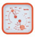 【タニタ】タニタ温湿度計TT−557 ORオレンジ 風邪予防/かぜ対策/空気が乾燥する冬に備えよう  02P03Dec16