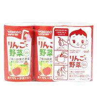 【箱買い】和光堂 元気っち!りんごと野菜 まとめて6パック(125ml×3個入りを)  02P03Dec16