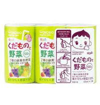 【箱買い】和光堂 元気っち!くだものと野菜 まとめて6パック(125ml×3個入りを)  02P03Dec16